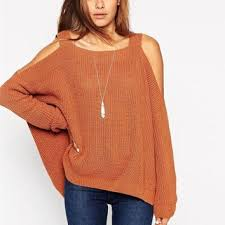 cold shoulder sweaters shop cold shoulder sweater on wanelo
