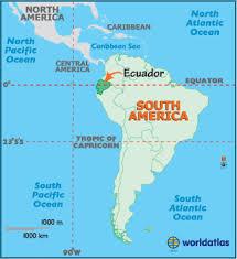 south america map equator ecuador map geography of ecuador map of ecuador worldatlas