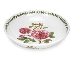 portmeirion botanic roses 13 inch low open bowl