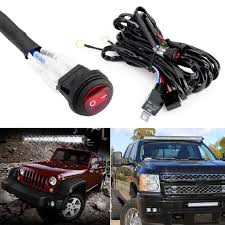 Led Light Bar 12v by 12v 40a Relay Switch Control Wiring Harness Kit For Off Road Atv