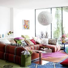 Shabby Chic Sectional Sofa by Home Interior Stylish Bohemian Modern Living Room Design With U