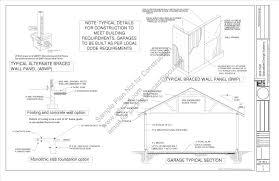 100 7 u2032 back wall loft free pole barns pole barn plans
