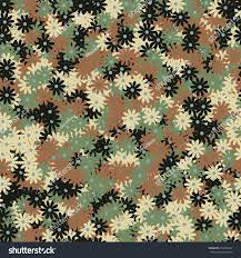 seamless pattern small daisy flowers high stock vector 612005927