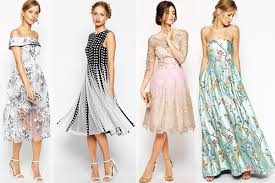dresses for wedding guests the tips on choosing the best wedding guest dresses for various
