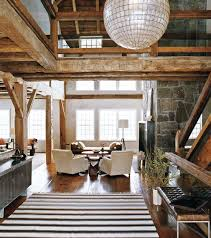 Interior Modern Rustic Barn Style At Home - Barn interior design ideas