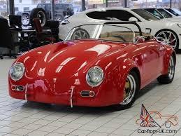 porsche speedster kit car 356 kit car replica
