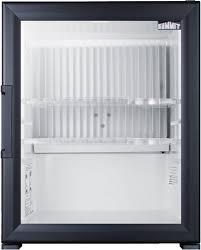 mini bar refrigerator glass door summit mbh32gl 17 inch glass door minibar refrigerator for hotels