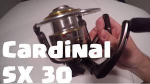 cardinal sx abu garcia cardinal sx 30 unboxing