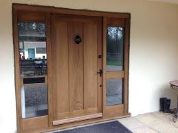 Solid Oak Exterior Doors Solid Wooden Front Doors Solid Oak Front Doors Uk Hfer
