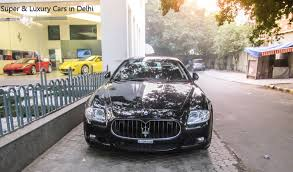 maserati india maserati quattroporte spotted at ferrari new delhi youtube