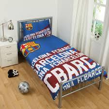 Barcelona Bedroom Furniture Official Fc Barcelona Duvet Cover Sets Bedding Bedroom Football