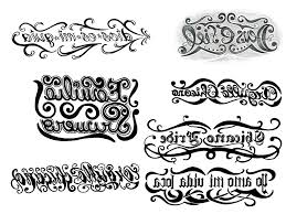 tribal letters tattoos designs lettering alphabets