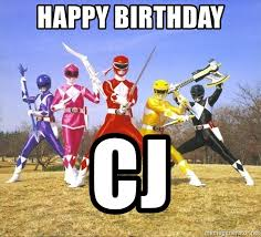 Power Rangers Meme Generator - happy birthday cj power ranger meme meme generator