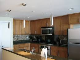 exciting modern kitchen home decoration shows harmonious brown