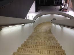 Illuminated Handrail Southampton Illuminated Handrail Architectural Metalwork Projects