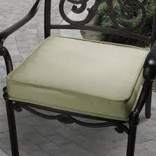Sunbrella Outdoor Cushion Sunbrella 19 In Canvas Outdoor Chair Cushion