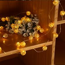 Restaurant String Lights by Xmas In Outdoor 3m Copper Wire Decor Battery Powered 30led Fairy