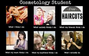 Cosmetology Meme - cosmetology student haha this is even better than the other one