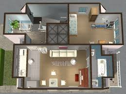 mod the sims backdoor lane 55 another apartment mini 3 units