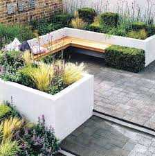 Deck Planters And Benches - 88 best g seating images on pinterest gardens landscaping and