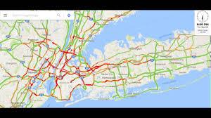Maps Traffic Long Island Nyc Traffic Google Maps 1 Min Time Lapse Sept 2016