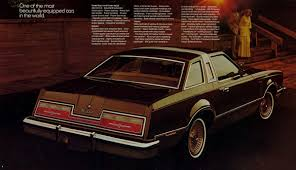 vintage reviews 1977 ford thunderbird u2013 a new kind of thunder