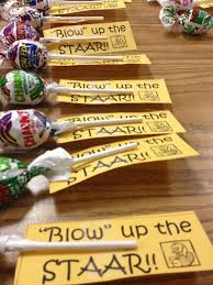 staar motivation treat bags for students up the staar