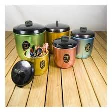 vintage retro kitchen canisters 47 best retro kitchen canisters images on retro