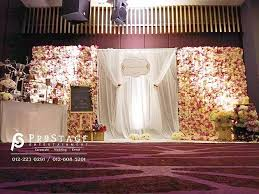 wedding backdrop design malaysia flower wall curtain backdrop stage decoration photo table