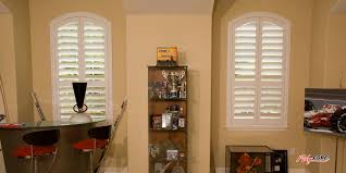 arched window blinds wood business for curtains decoration