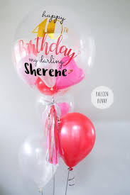 personalised birthday balloons led personalised happy birthday balloon with