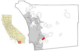 San Diego On Map by Rancho San Diego California Wikipedia