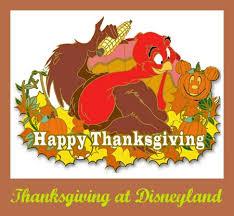 2017 thanksgiving offerings at disneyland resort