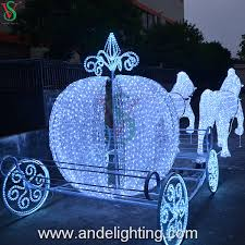 christmas lights for sale hot sell outdoor christmas lights 3d acrylic pumpkin carriage