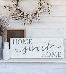 wooden signs decor home sweet home rustic wood sign rustic wall decor