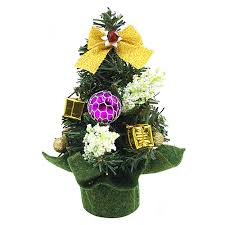 mini small tiny artificial tree indoor home decoration