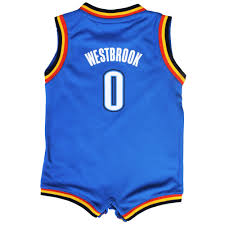 Notre Dame Infant Clothes Adidas Russell Westbrook Oklahoma City Thunder Infant Light Blue