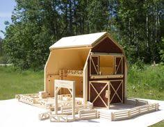 Free Woodworking Plans For Toy Barn by Diy Toy Wooden Barn Wooden Barn Handmade Toys And Barn