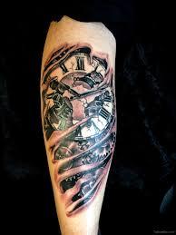 nice clock tattoo tattoo designs tattoo pictures