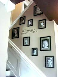 Staircase Wall Decorating Ideas Staircase Wall Ideas Stairwell Decor Idea Awesome Stairway Wall