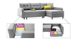 Sectional Sofa With Storage And Sleeper Sectional Sofa Small With Storage Sleeper Space Regard