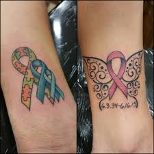 130 inspiring breast cancer ribbon tattoos 2017 collection