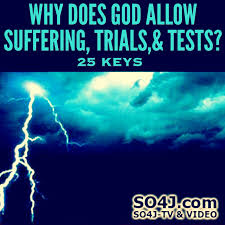 quotes from the bible about killing non believers 25 keys why does god allow suffering trials tests