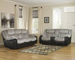 Two Tone Reclining Sofa Tafton Two Tone Reclining Sofa Set By Home Gallery Stores