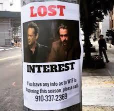 Lost Memes Tv - true detective season 2 episode 5 recap never too late to start