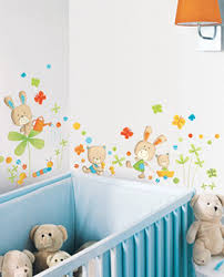 stickers animaux chambre bébé la décoration murale de la chambre de bébé intérieur et décoration