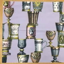 bicchieri boemia fornasetti bicchieri boemia grigio tessuto cotone fabric