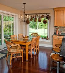 picture ledge dining room dining room rustic with slip covers