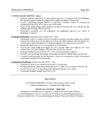 business operations manager resume examples cv templates doc
