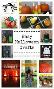 easy halloween crafts mommayoung